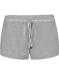 Juicy Couture Essential Pyjama Shorts - Lyst