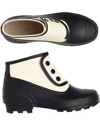 Toast Two Tone Spats Boot - Lyst
