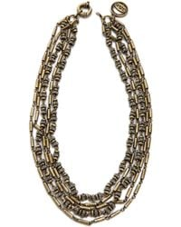 Giles & Brother - Pave Bundle Necklace - Lyst