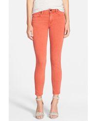Genetic Denim Daphne Crop Skinny Jeans - Lyst