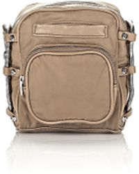 Alexander Wang - Brenda Camera In Khaki Leather And Nylon - Lyst