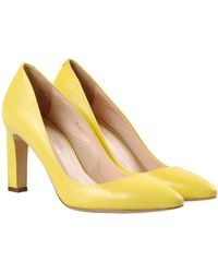 Carlo Pazolini Yellow Pump - Lyst