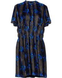 Christopher Kane Blue Short Dress - Lyst