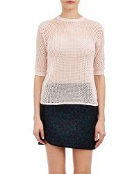 Alexander Lewis - Open-Work Stitch Sweater - Lyst