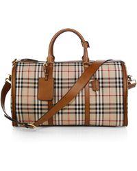 Burberry Classic Check Duffel Bag - Lyst