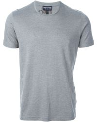 Emporio Armani Round Neck T-shirt - Lyst