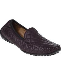 Robert Zur Quana Driving Loafer Burgundy Leather - Lyst