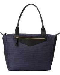 Sam Edelman Sporty Chic Large Tote blue - Lyst