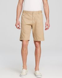 Lacoste Bermuda Shorts - Classic Fit brown - Lyst
