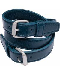 Balenciaga Triple Tour Bracelet - Lyst
