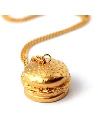 Goldie Rox - The Burger Locket - Lyst
