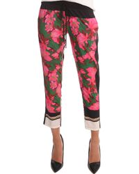 Clover Canyon Dancing Tulips Pant - Multicolour