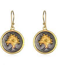 Satya Jewelry - 'tree Of Life' Drop Earrings - Lyst