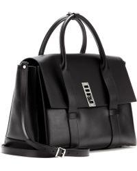 Proenza Schouler Ps Elliot Medium Satchel Leather Shoulder Bag - Lyst