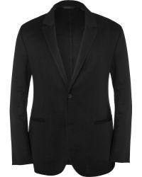 Calvin Klein Doublefaced Cashmere Blazer - Lyst