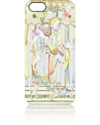 Swash London - Carousel Champagne Printed Plastic Iphone 5 Case - Lyst