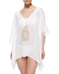 Florabella - Tivoli Lace Short Tunic Coverup - Lyst