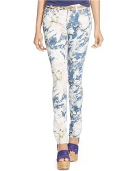 Polo Ralph Lauren Floral Tompkins Skinny Jeans - Lyst