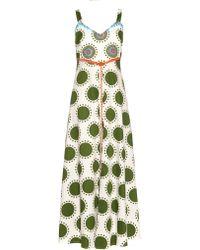 Easton Pearson Take Away Summergirl Guava Spot-print Dress - Green