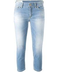 Dondup Capri Skinny Jeans - Lyst