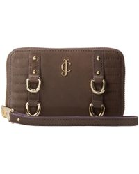 Juicy Couture Dylan Tech Wristlet - Lyst