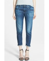 AG Adriano Goldschmied 'Nikki' Relaxed Skinny Jeans - Lyst