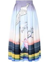 Mary Katrantzou Long Skirt - Lyst