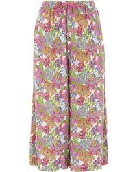 Uniqlo - Angelica Garla B Printed Relaco 3/4 Shorts - Lyst