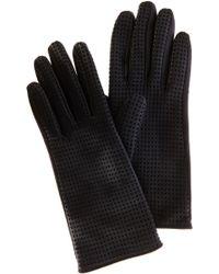Karen Millen - Punched Leather Glove - Lyst