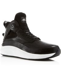 Article No. 1115 High Top Trainers - Black