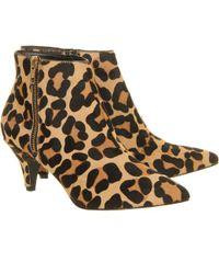 Office Go Go Kitten Heel Shoe Boot - Lyst