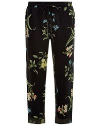 Joie Theron Tapered Trousers - Lyst
