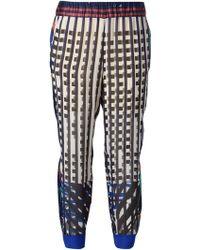 Forte Forte Geometric Print Short Trousers - Lyst