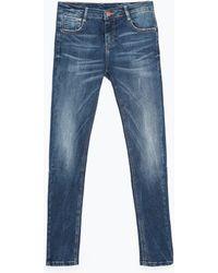 Zara Body Curve Jeans - Lyst