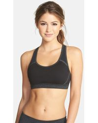Zella Women'S 'Live In - Heartbeat' Sports Bra - Lyst