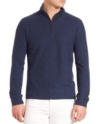 Polo Ralph Lauren   Half-zip Mockneck Sweater   Lyst