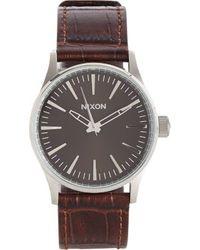 Nixon Sentry 38 Watch - Lyst