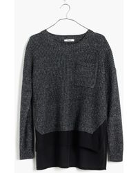 Madewell Alliance Pullover Sweater - Lyst