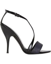 Narciso Rodriguez Harness T-Strap Sandals - Lyst