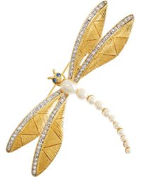 Brooks Brothers - Dragonfly Brooch - Lyst