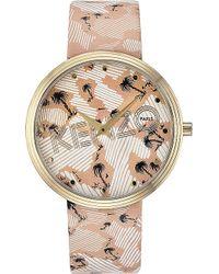 Kenzo Unisex Palm Tree-print Watch - Lyst