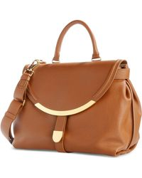 See By Chloé Large Leather Bag - Lyst