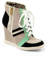 Jessica Simpson - Lexia Colorblock Wedge Trainers - Lyst