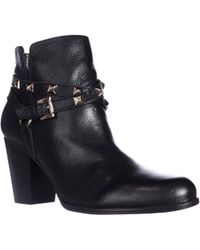Guess | Fran Studded Dress Ankle Booties | Lyst