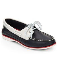 Clarks Jetto Colorblock Boat Shoes - Lyst