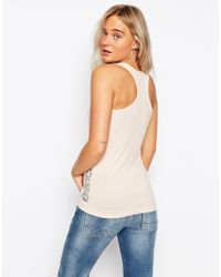 Bench - Fitted Racer Back Tank - Lyst