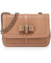 Christian Louboutin Sweet Charity Calfskin Shoulder Bag - Lyst
