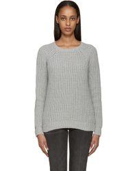 Earnest Sewn - Grey Tourmaline Sweater - Lyst