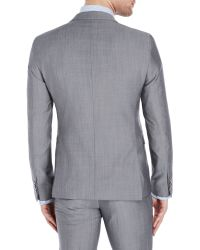 Sand - Grey Two-Piece Wool Suit - Lyst