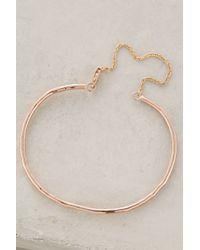 Phyllis + Rosie - Chained Cuff Bracelet - Lyst